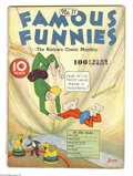 Platinum Age (1897-1937):Miscellaneous, Famous Funnies #11 (Eastern Color, 1935) Condition: FR. Brittlepages. Contains four pages of Buck Rogers strip reprints...