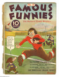Platinum Age (1897-1937):Miscellaneous, Famous Funnies #15 (Eastern Color, 1935) Condition: FR. Brittlepages. Buck Rogers strip reprints. Overstreet 2004 GD 2....