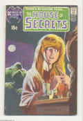 Bronze Age (1970-1979):Horror, House of Secrets #92 (DC, 1971) Condition: FN-. First appearance ofSwamp Thing. Classic cover by Bernie Wrightson. Overstre...