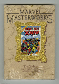 Marvel Masterworks #11 X-Men (Marvel, 1990) Condition: VF/NM. Still shrinkwrapped. Reprints Giant Size X-Men #1 and X-...