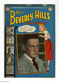 Golden Age (1938-1955):Romance, Miss Beverly Hills of Hollywood #9 (DC, 1950) Condition: VG. Partphoto cover. Final issue. Two chips out at the top, heavy ...