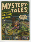 Golden Age (1938-1955):Horror, Mystery Tales #1 (Atlas, 1952) Condition: GD/VG. Gene Colan, JoeManeely, and Paul Reinman art. Overstreet 2004 GD 2.0 value...