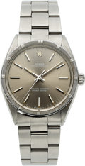 Timepieces:Wristwatch, Rolex, Ref. 1007 Oyster Perpetual, Stainless Steel, Circa 1982. ...