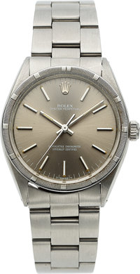 Rolex, Ref. 1007 Oyster Perpetual, Stainless Steel, Circa 1982