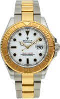Timepieces:Wristwatch, Rolex, Yacht-Master Ref. 16623, Steel and Gold Oyster Perpetual, Circa 2005. ...