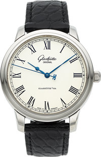 Glashutte Original, Senator Automatic, Stainless Steel, Circa 2010