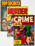 Golden Age (1938-1955):Crime, Golden Age Crime Comics Group of 11 (Various Publishers, 1950s) Condition: Average FN.... (Total: 11 Comic Books)