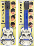 Music Memorabilia:Memorabilia, The Beatles Group of Two Unlicensed Toy Guitars. . ... (Total: 2 Items)