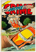 Golden Age (1938-1955):Crime, Crime and Justice #9 (Charlton, 1952) Condition: FN....