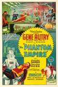 "Movie Posters:Serial, The Phantom Empire (Mascot, 1935). Very Fine- on Linen. One Sheet (27"" X 41"") Advance.. ..."