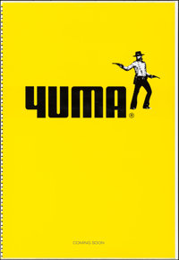 """3:10 to Yuma (Lions Gate, 2007). Rolled, Very Fine+. Printer's Proof One Sheet (28"""" X 41"""") DS, Teaser. Western..."""