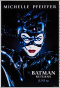 """Movie Posters:Action, Batman Returns (Warner Brothers, 1992). Rolled, Very Fine+. Printer's Proof One Sheet (28"""" X 41"""") SS, Advance. Page Wood Art..."""
