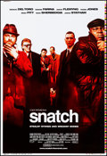 "Movie Posters:Crime, Snatch (Columbia, 2000). Rolled, Very Fine/Near Mint. Printer's Proof One Sheet (28"" X 41"") SS. Crime.. ..."