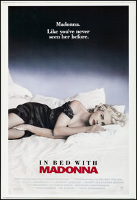 """Truth or Dare (Miramax, 1991). Rolled, Very Fine. Printer's Proof International One Sheet (28"""" X 41.25"""") SS. A..."""