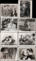 """Movie Posters:Miscellaneous, James Stewart Lot (1939-1966). Overall: Very Fine. Photos (8) & Color Photos (2) (8"""" X 10""""). Miscellaneous.. ... (Total: 10 Items)"""