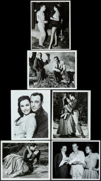 """Brigadoon (MGM, 1954). Fine/Very Fine. Photos (6) & Color Photo (8"""" X 10""""). Musical. ... (Total: 7 Ite..."""