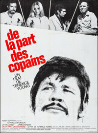 "Cold Sweat & Other Lot (Les Films Corona, 1970). Folded, Fine/Very Fine. French Grandes (2) (45.5"" X 62"" &..."