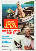"""Movie Posters:Foreign, Seduction by the Sea (Florida Cinemagrafia, 1966). Folded, Fine. First Release Italian 2 - Fogli (39.25"""" X 55.25""""). Foreign...."""