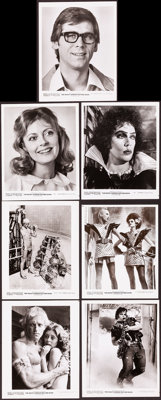 """The Rocky Horror Picture Show (20th Century Fox, 1975). Very Fine-. Photos (21) (8.25"""" X 10.25""""). Rock and Rol..."""