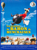 """Movie Posters:Adventure, The Adventures of Baron Munchausen (Columbia, 1989). Folded, Very Fine. French Grande (45.5"""" X 62"""") Jacques Fabre Artwork. A..."""