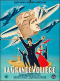 """Movie Posters:Foreign, La Grande Voliere (Les Films Constellation, 1948). Folded, Fine+. French Grande (45"""" X 61"""") Roger Jacquier Artwork. Foreign...."""