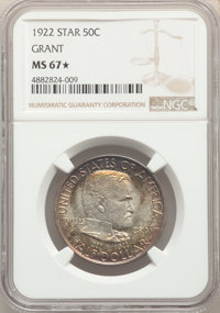 1922 50C Grant With Star, MS(PCGS# 9307)