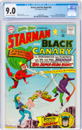 Silver Age (1956-1969):Superhero, The Brave and the Bold #62 Starman and Black Canary (DC, 1965) CGC VF/NM 9.0 Off-white to white pages....