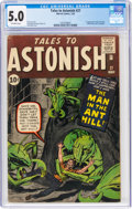 Silver Age (1956-1969):Superhero, Tales to Astonish #27 (Marvel, 1962) CGC VG/FN 5.0 Off-white pages....