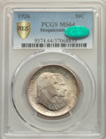 Commemorative Silver, 1926 50C Sesquicentennial MS64 PCGS. CAC. PCGS Population: (2337/386 and 84/29+). NGC Census: (1831/306 and 21/13+). CDN: $...