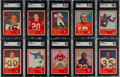 Football Cards:Sets, 1963 Fleer Football High Grade Complete Set (88) With Checklist....