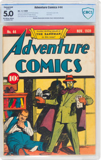 Adventure Comics #44 (DC, 1939) CBCS Conserved VG/FN 5.0 Off-white to white pages