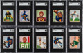 Football Cards:Sets, 1950 Bowman Football Complete Set (144)....