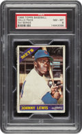 Baseball Cards:Unopened Packs/Display Boxes, 1966 Topps Baseball (3rd Series) Cello Pack PSA NM-MT 8 - Jenkins Rookie Series. ...