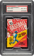 Baseball Cards:Unopened Packs/Display Boxes, 1970 Topps Baseball Unopened Wax Pack PSA NM-MT 8....