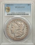 1893-CC $1 Fine 15 PCGS. PCGS Population: (369/6418 and 0/109+). NGC Census: (165/3236 and 0/39+). CDN: $320 Whsle. Bid...