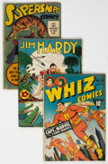 Golden Age (1938-1955):Miscellaneous, Golden Age Miscellaneous Comics Group of 6 (Various Publishers, 1940s).... (Total: 6 Comic Books)