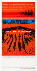 "Movie Posters:Western, The Wild Bunch (Warner Brothers - Seven Arts, 1969). Folded, Very Fine. International Three Sheet (41"" X 79""). Western.. ..."