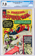 Silver Age (1956-1969):Superhero, The Amazing Spider-Man #14 (Marvel, 1964) CGC FN/VF 7.0 Off-white to white pages....
