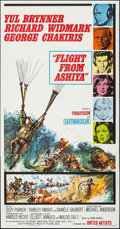 "Movie Posters:Adventure, Flight from Ashiya (United Artists, 1964). Folded, Very Fine+. Three Sheet (41"" X 79""). Frank McCarthy Artwork. Adventure.. ..."