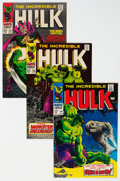 Silver Age (1956-1969):Superhero, The Incredible Hulk Group of 15 (Marvel, 1968-73) Condition: Average VF/NM.... (Total: 15 )