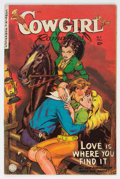 Golden Age (1938-1955):Western, Cowgirl Romances #11 (Fiction House, 1952) Condition: FN/VF....