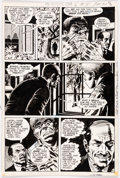 Original Comic Art:Panel Pages, Wally Wood The Witching Hour #15 Story Page 6 Original Art (DC Comics, 1971). ...
