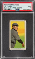 Baseball Cards:Singles (Pre-1930), 1909-11 T206 Piedmont 350/25 Cy Young (Hand Shows) PSA NM 7 - Pop One, One Higher for Brand/Factory. ...