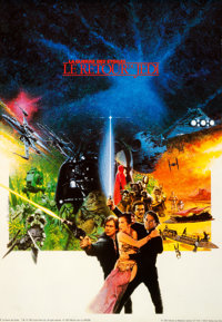 "Return of the Jedi (Editions du Weekend, 1983). Rolled, Very Fine. French Commercial Poster Set of 4 (26.75"" X 38.7..."