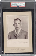 Baseball Cards:Singles (Pre-1930), 1902-11 W600 Sporting Life (Type 1) Claude Ritchey (Street Clothes) PSA EX 5 - One of Only Two Graded by PSA! ...