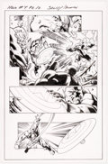 Original Comic Art:Panel Pages, Mark Bagley and Andrew Hennessy Hulk #4 Story Page 10 Original Art (Marvel, 2014)....