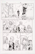 Original Comic Art:Panel Pages, John Romita Jr. and Scott Hanna Avengers vs. X-Men #1 Story Page 25 Original Art (Marvel, 2012)....