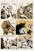 Original Comic Art:Panel Pages, John Buscema and Tony DeZuniga The Savage Sword of Conan #58 Story Page 39 Original Art (Marvel Comics, 1980)....