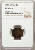 1886 1C Type Two PR66 Red and Brown NGC....(PCGS# 92346)