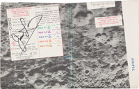 """Apollo 13 Flown Orbital Science Chart """"C"""" Directly from the Personal Collection of Mission Commander James Lov..."""